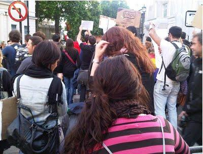 El #15M sigue acampado en Londres
