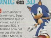 [3DS] Nintendo Acción confirma Sonic para
