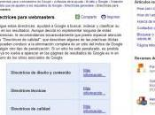 Redirección para Google