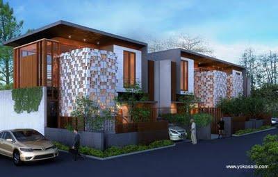 Proyecto de casas duplex contempor neas paperblog Estilo contemporaneo arquitectura