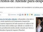 Sobre muerte Salvador Allende