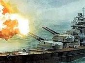 batalla estrecho Dinamarca: Bismarck hunde Hood 24/05/1941