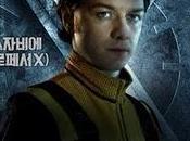 X-men: primera generación. posters coreanos mutantes
