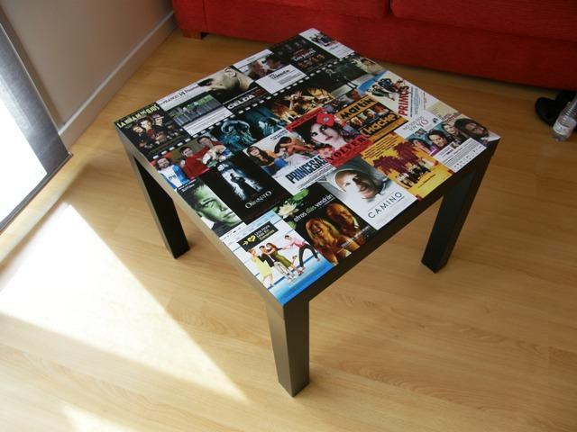 Ikea hack la mesa lack de nuria paperblog - Mesas de tv en ikea ...