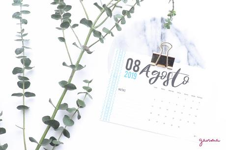 Freebie: Calendario Agosto