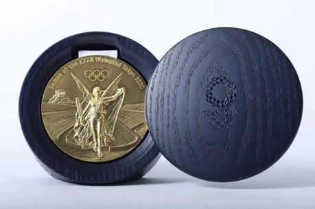 Así serán las medallas de Tokyo 2020 fabricadas con teléfonos reciclados