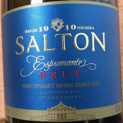 Salton Espumoso Blanco Brut, de Vinícola Salton de Brasil
