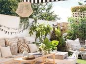 terraza famosa influencer muebles IKEA