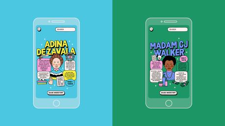 Esta app da voz a las mujeres silenciadas en los libros de historia de EE.UU. a través de la realidad aumentada