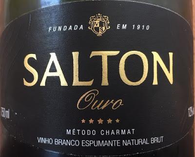 Salton Ouro Espumoso Blanco Brut, de Vinícola Salton de Brasil
