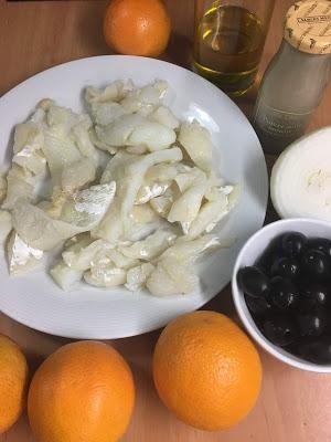 Remojón Granadino O Ensalada De Bacalao Y Naranja