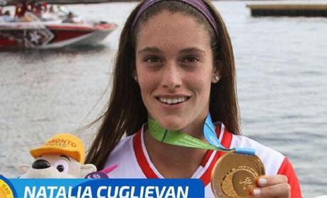 Lima 2019: la peruana Cuglievan gana el oro en esquí acuático