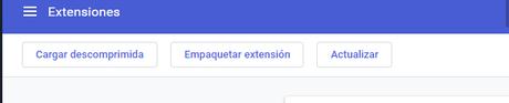 Como obtener y configurar extensiones en Chrome