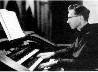 José María Ibarbia, el añorado organista de los Franciscanos de Santander