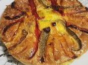 Tortilla verduras.