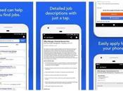 Aplicaciones para encontrar trabajo desde móvil