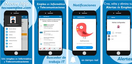 Aplicaciones para encontrar trabajo desde el móvil