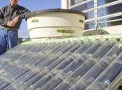 Calentador agua solar casero