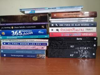 IMM#12 de mayo a julio ¿En qué momento junté tantos libros?