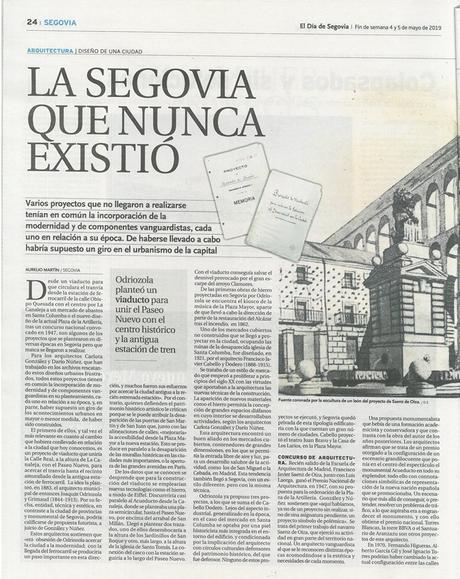 La Segovia que nunca existió vía @eldiadesegovia