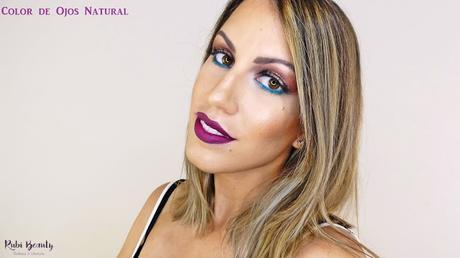 Maquillaje utilizando lentillas naturales de LensCircle