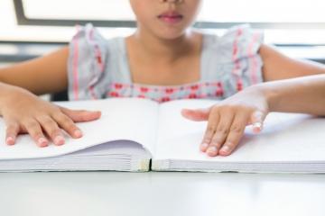 Método Braille para educar al niño ciego