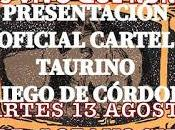 Mañana presenta cartel festejo taurino feria real priego