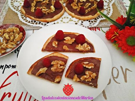 Tortas de Aceite con Chocolate y Nueces