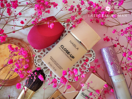 ♥ Close-up Futuristic Foundation de Nabla Cosmetics
