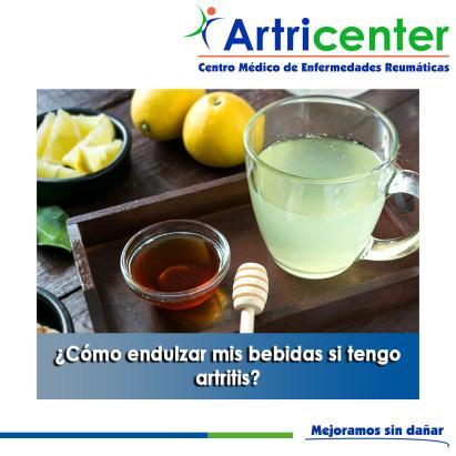 Artricenter: ¿Cómo endulzar mis bebidas si tengo artritis?