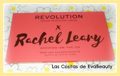 Review Paleta Rostro y ojos x Rachel Leary Goddess on the go de Makeup Revolution