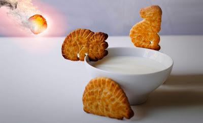 Un Pelotazo de Cheetos extingue las galletas Dinosaurus