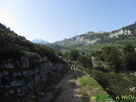 Inicio del camino de Pandecarmen a Vegarredonda