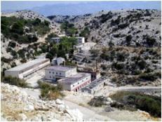 Campo de Concentración Goli Otok abandonado