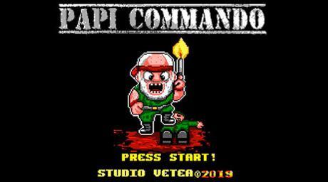 Studio Vetea trabaja en la conversión de Papi Commando para Master System
