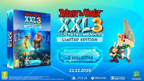 Astérix & Obélix XXL3 El Menhir de Cristal llegará a Playstation 4 en noviembre