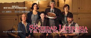La Sociedad literaria y el pastel de piel de patata.