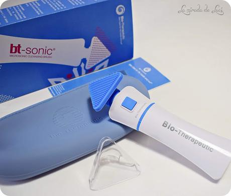 BIO-THERAPEUTIC, bt-sonic™, cepillo de limpieza facial.