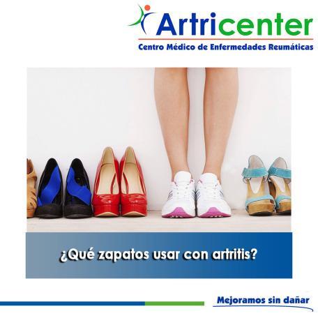 Artricenter: ¿Qué zapatos usar con artritis?