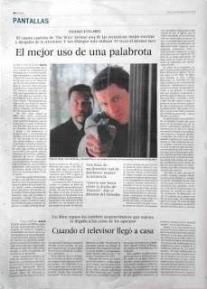 El intruso electrónico. Artículo en El País