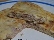 Tortilla francesa atún queso