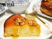 Melòpita naranja canela (tarta queso griega requesón miel)