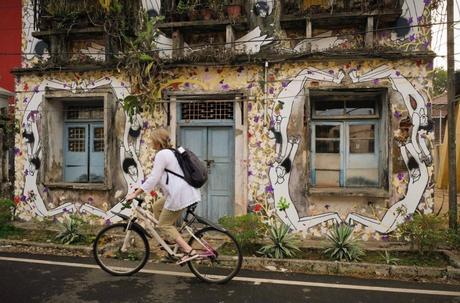MW-Cochin-bicycle-2019-Photo-Andrew-Adams ▷ Viajes femeninos en solitario en la India: ¿es seguro?