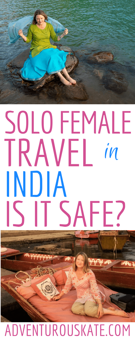 Solo-Female-Travel-in-India ▷ Viajes femeninos en solitario en la India: ¿es seguro?