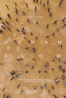 Inapelable paisaje de injusticia con trazas de narcisismo al fondo (Marea humana (Human flow))