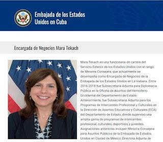 Conspirando: embajada USA en Cuba