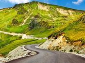 carretera Transalpina, paisajes lagos.-