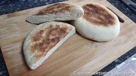 (Pan Casero) Pan marroquí (segunda prueba, sin MM) (Nº 22)