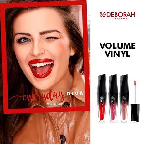 """Las nuevas propuestas de DEBORAH MILANO: """"2in1 Eyeshadow & Kajal"""", """"24Ore Instant Maxi Volume Waterproof"""" y """"Volume Vinyl Lipstick"""""""