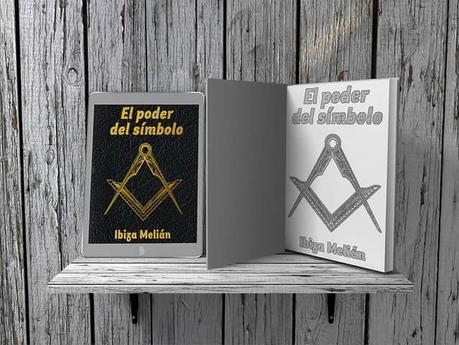 Escuadra y compás en el booktrailer del libro de la escritora Ibiza Melián, El poder del símbolo